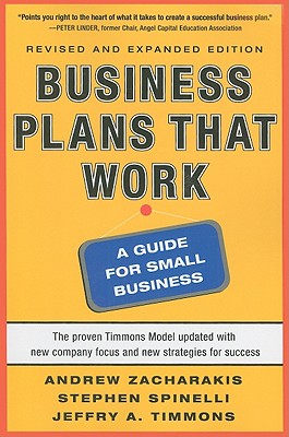 Business Plans That Work By Timmons, Jeffry